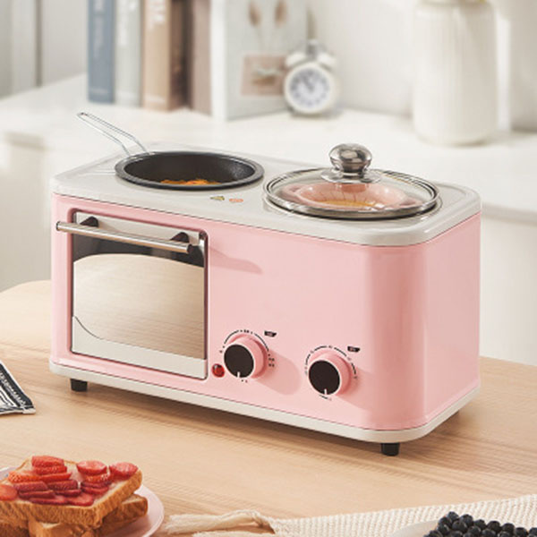TSK 家用多功能三合一早餐機