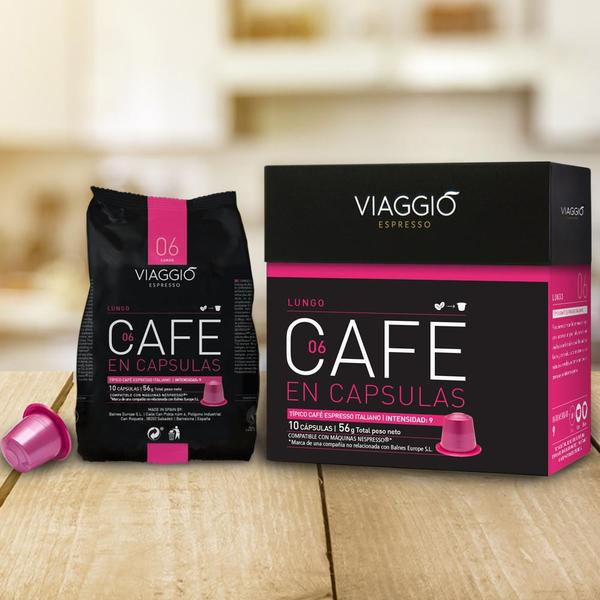 VIAGGIO Espresso - 經典時光 | 咖啡膠囊組合 (120粒膠囊) 送【EXIT 7】含酒精70%抗菌搓手液30ml 一枝