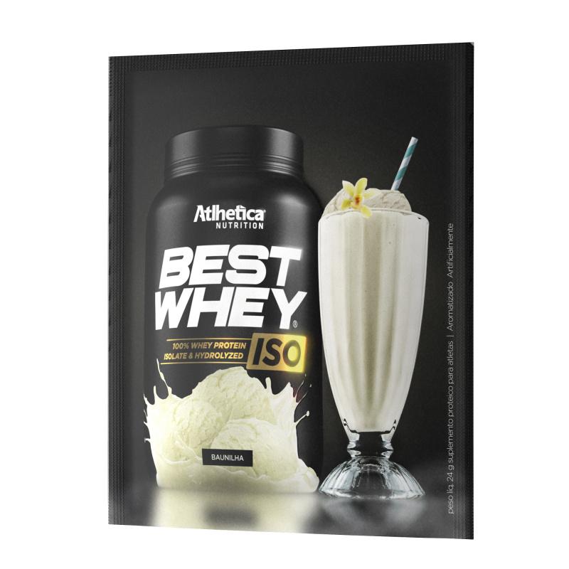 BEST WHEY ISO 分離+水解蛋白粉 (雲呢拿) (獨立包裝) 24克/包