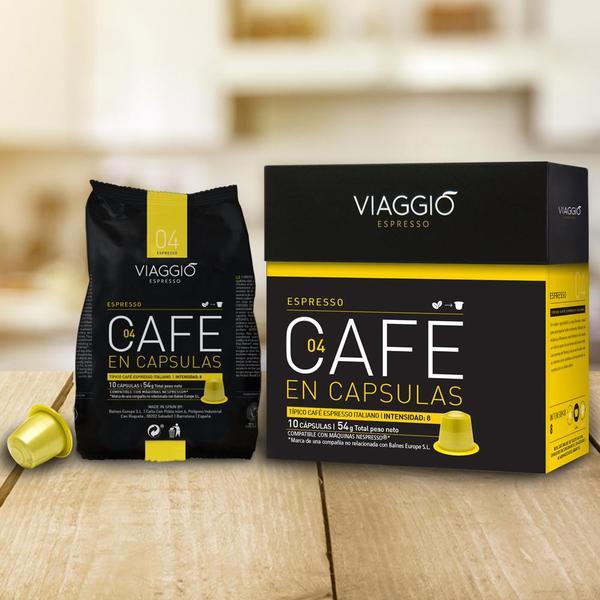 VIAGGIO Espresso - 至嘆享受組合 | 咖啡膠囊組合 (120粒膠囊) 送【EXIT 7】含酒精70%抗菌搓手液30ml 一枝