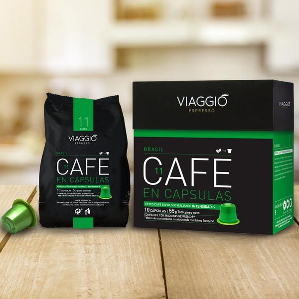 VIAGGIO Espresso - 特別時刻 | 咖啡膠囊組合 (120粒膠囊) 送【EXIT 7】含酒精70%抗菌搓手液30ml 一枝