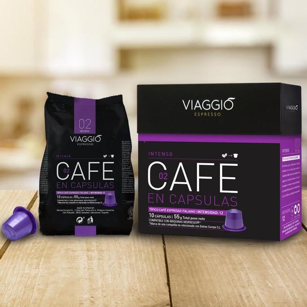 VIAGGIO Espresso - 醒神之選   咖啡膠囊組合(120粒膠囊) 送【EXIT 7】含酒精70%抗菌搓手液30ml 一枝