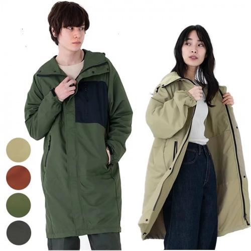 W.P.C - 胸袋型防水透氣雨衣[4色]