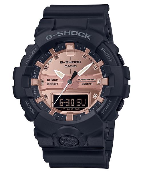 Casio G-Shock 黑色 x 玫瑰金系列