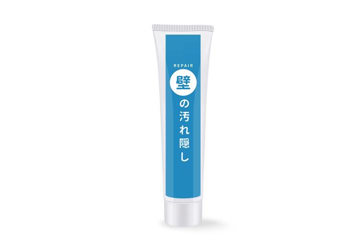 日本珪藻土防水牆面修復膏 250g (附尖嘴頭+黃刮刀) [平行進口]