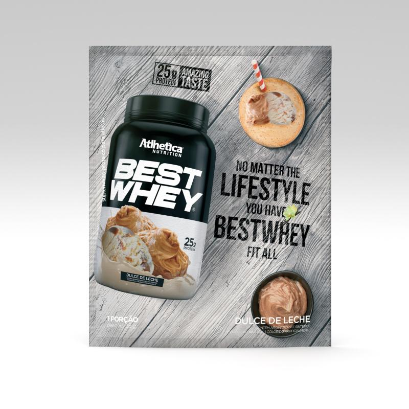 BEST WHEY 至尊乳清蛋白粉 (特濃奶布甸)(獨立包裝) 35克/包