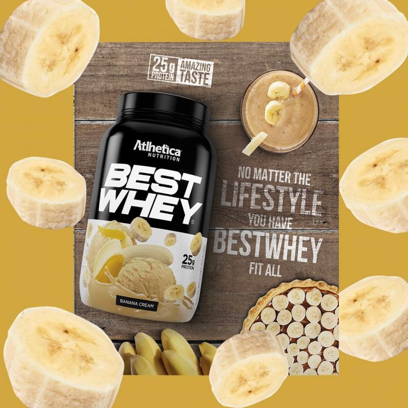 BEST WHEY 至尊乳清蛋白粉 (香蕉忌廉)(獨立包裝) 40克/包