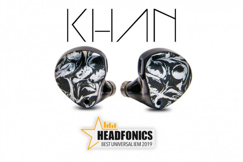 Noble Audio KHAN 品牌的旗艦傑作︰首對混合單元耳機