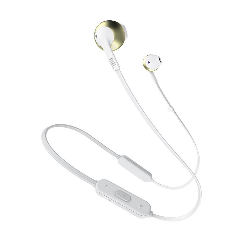 JBL - T205BT 純貝斯無線金屬耳塞式耳機帶麥克風(平行進口)