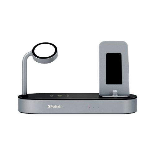 Verbatim 4合1 Apple Watch + Qi及iPhone手機無線充電座
