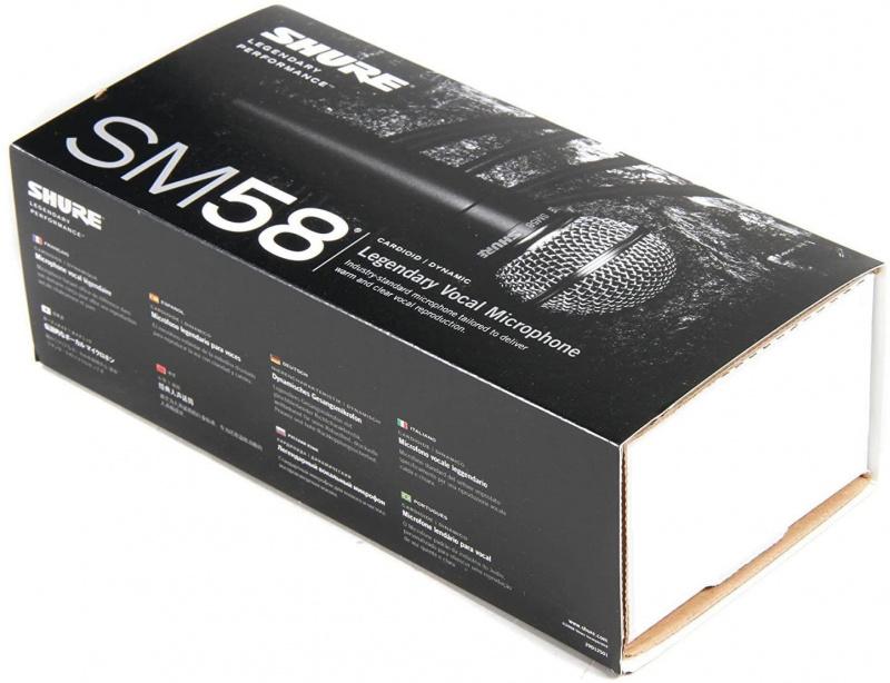 SHURE 行貨 Sm58S 心形動圈麥克風 (帶開關)