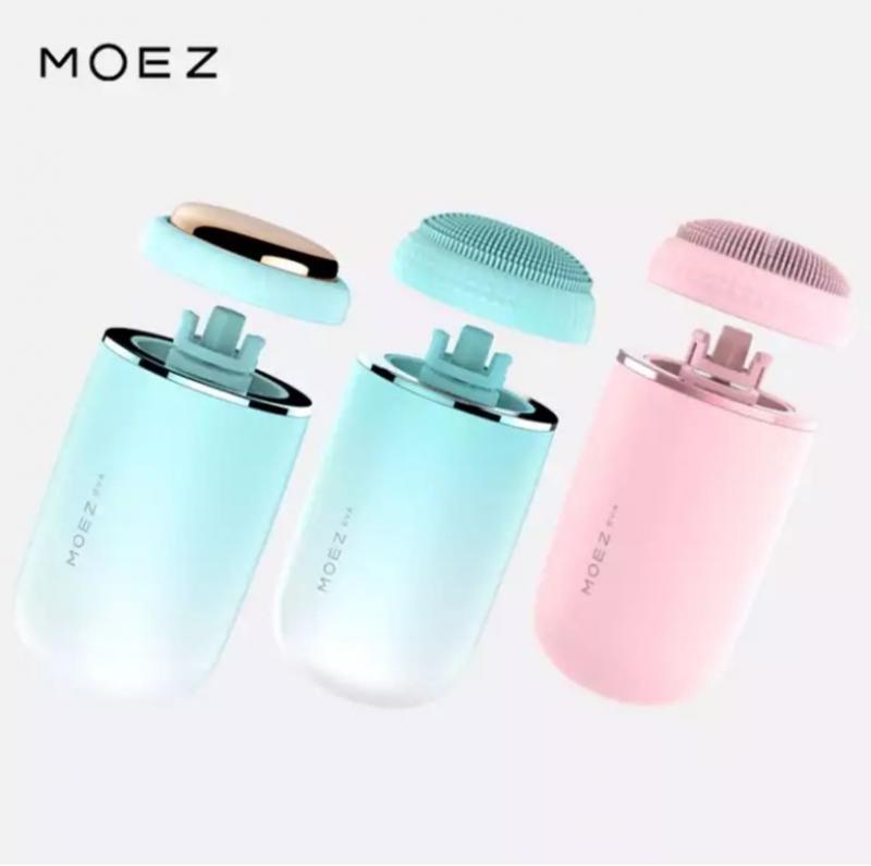 MOEZ EVA 氣泡嫩膚潔面美容儀 [藍色]