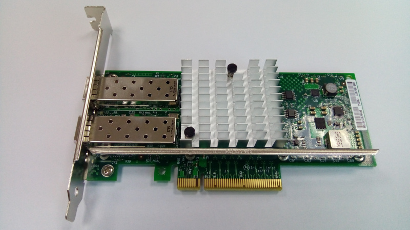 Intel Based PCIe Network Adapter - Intel X540AT2 Chipset; RJ45; 10Gb Transfer Rate x 1; PCIe 2.0 x8 (2 ports) LREC9802BT