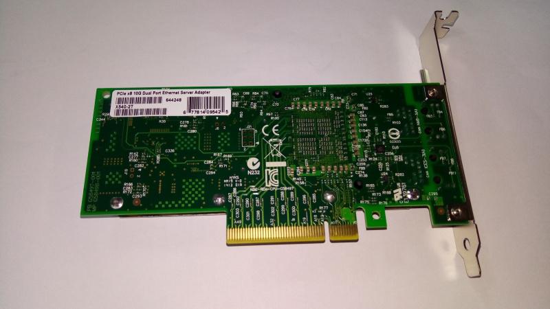 Intel Based PCIe Network Adapter - Intel JL82599ES Chipset; SFP+; 10Gb Transfer Rate x 1; PCIe 2.0 x8 (2 port) LREC9802BF-2SFP+