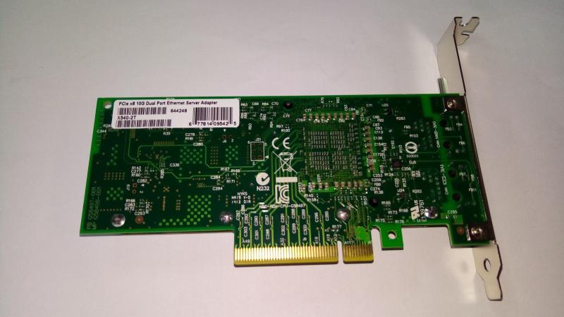 Intel Based PCIe Network Adapter - Intel XL710-BM1 Chipset; SFP+; 10Gb Transfer Rate x 4; PCIe 2.0 x8 (4 ports) LREC9804BF-4SFP+