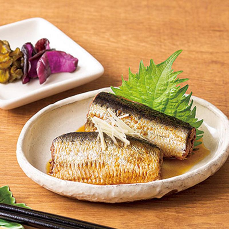 日版 極洋【味付生薑煮】沙甸魚罐頭 70g x3罐【市集世界 - 日本市集】