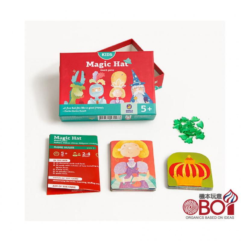SIMPLE RULES-隱形帽Magic Hat -俄羅斯兒童桌遊-強化STEAM教育