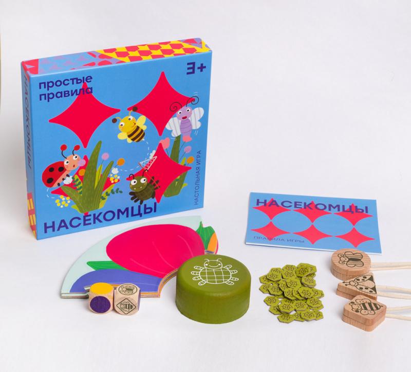 SIMPLE RULES -- 捕蟲仔 -- 俄羅斯兒童桌遊 -- 強化STEAM教育