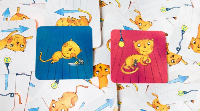 SIMPLE RULES -- 貓捉老鼠 -- 俄羅斯兒童桌遊 -- 強化STEAM教育