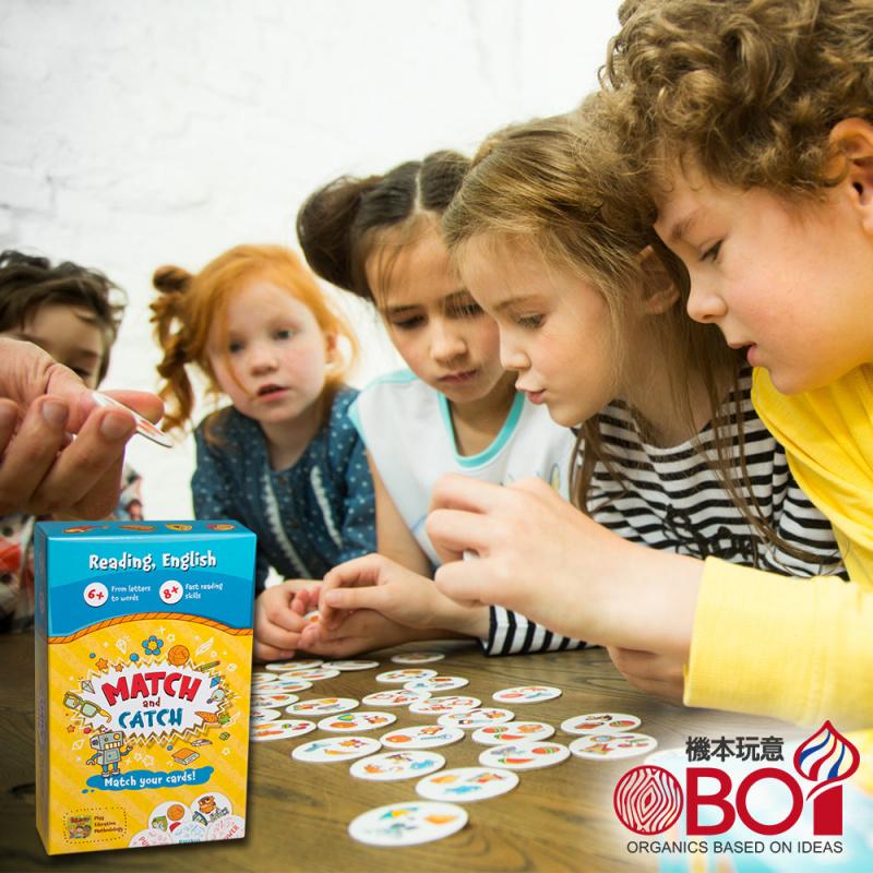 THE BRAINY BAND -- 捕抓抓 -- 俄羅斯兒童桌遊 -- 強化STEAM教育