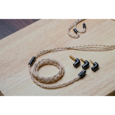 FiiO LC-RE 2.5/4.4mm Balanced 3.5 Single Earphone 可更換旋鎖插頭耳機升級線 [MMCX/0.78 2PIN]