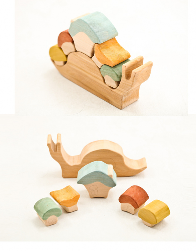 俄羅斯積木 -- 淳木童話 -- 遊戲系列: 莎夏蝸牛屋