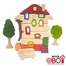 俄羅斯積木 -- 淳木童話 -- 建築遊戲系列: 小木屋組