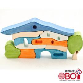 俄羅斯積木 -- 淳木童話 -- 建築遊戲系列: 南方木屋