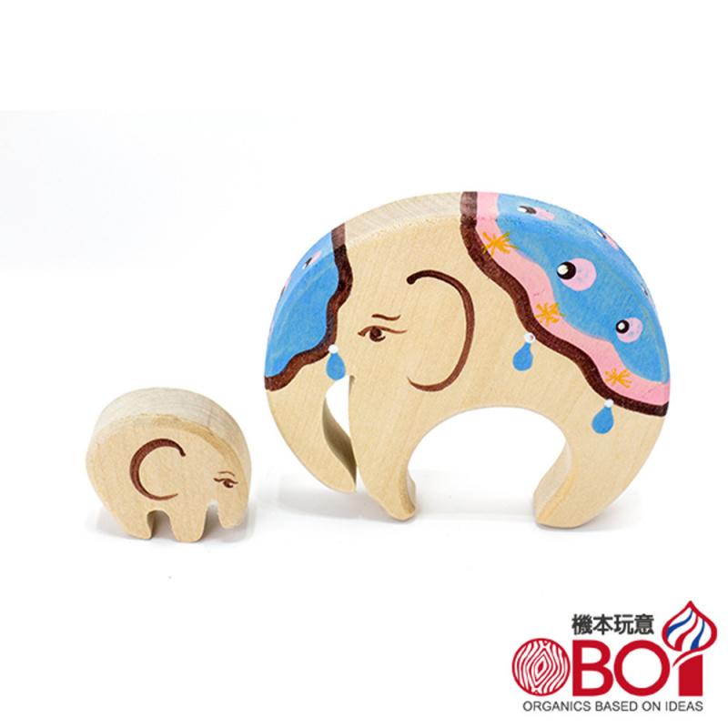 俄羅斯積木 -- 淳木童話 -- 家庭系列: 大象與小象