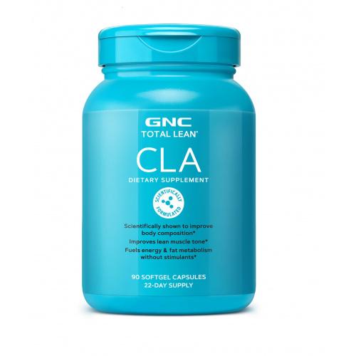 GNC Total Lean CLA 共軛亞麻油酸 (燃燒脂肪配方) 1000mg [90粒/180粒]