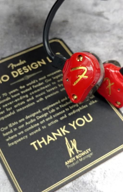 Fender Ten 2 烈日紅特別版