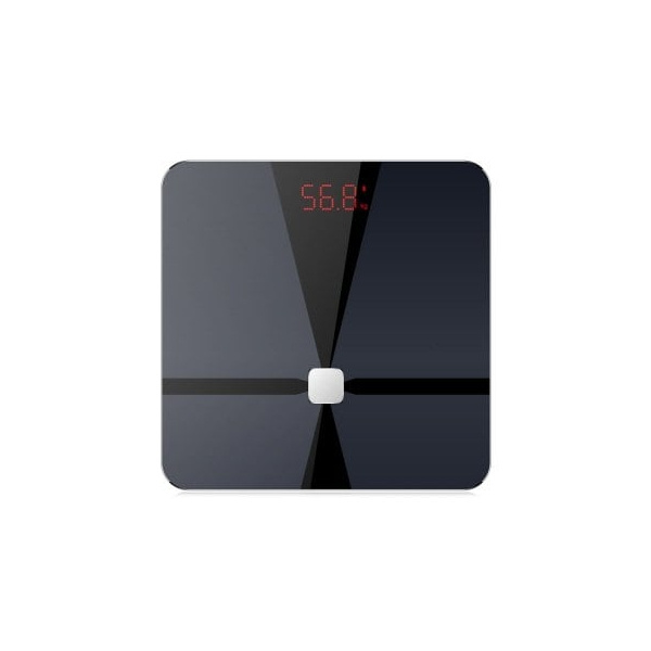 Lenovo - HS10 智能體重電子磅(量度BMI 、體脂、骨骼重量及肌肉重量) (黑色) (原裝行貨)