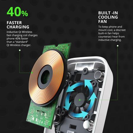 iOttie iTap Wireless Fast Charging Magnetic Car Mount 無線快速充電磁力車用電話座