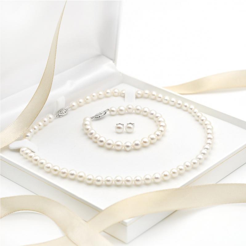 One & Ownly - 淡水珍珠純銀禮物套裝