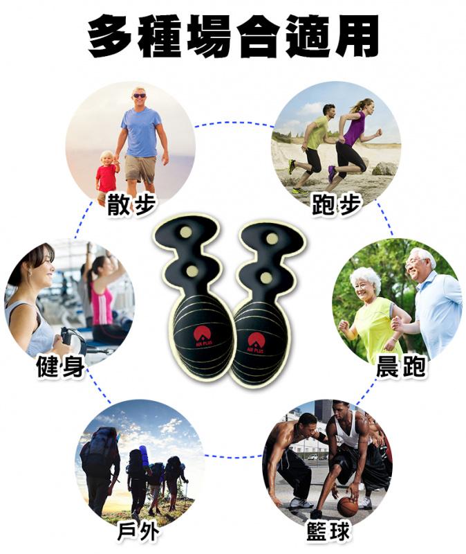 台灣HARYA第二代舒壓足部雙氣墊鞋墊