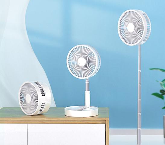 (全新清貨)180度 角度調節 收納式風扇 7200mah 4速風力調節