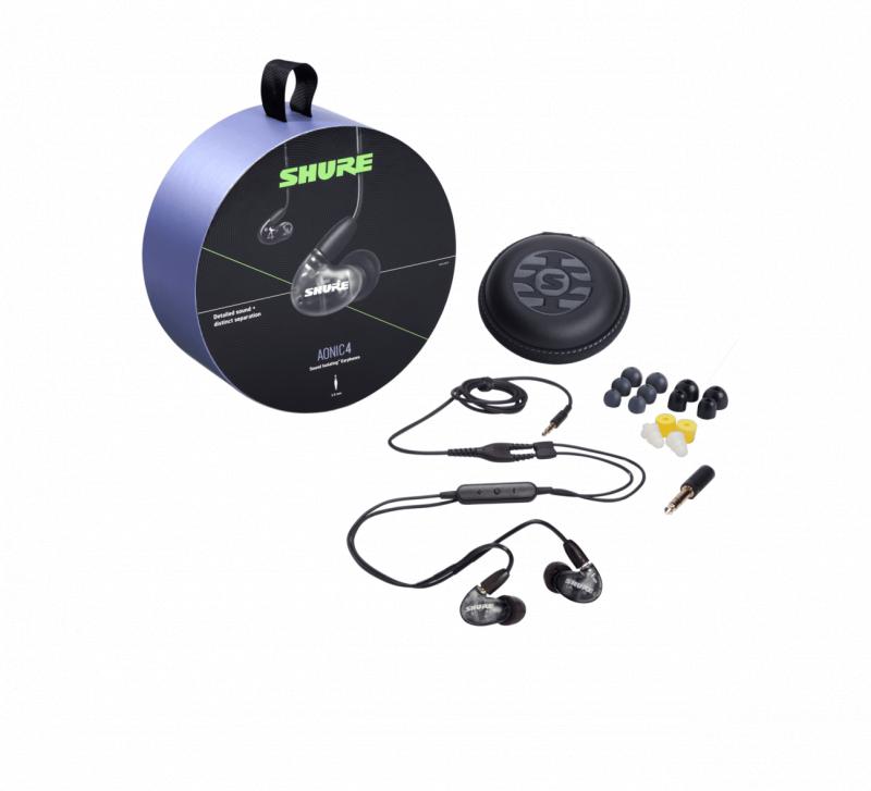 Shure Aonic 4 Sound Isolating Earphones 入耳式耳機 [2色]