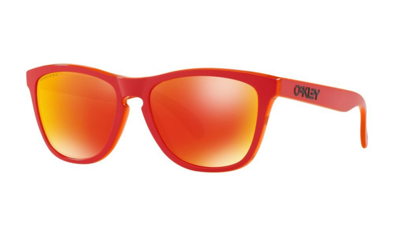 OAKLEY OO9245-7254 FROGSKINS™GRIPS COLLECTION (ASIA FIT) MATTE RED 太陽眼鏡