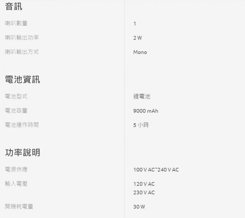 Acer Projector LED微型投影機 (白色) [C202i]