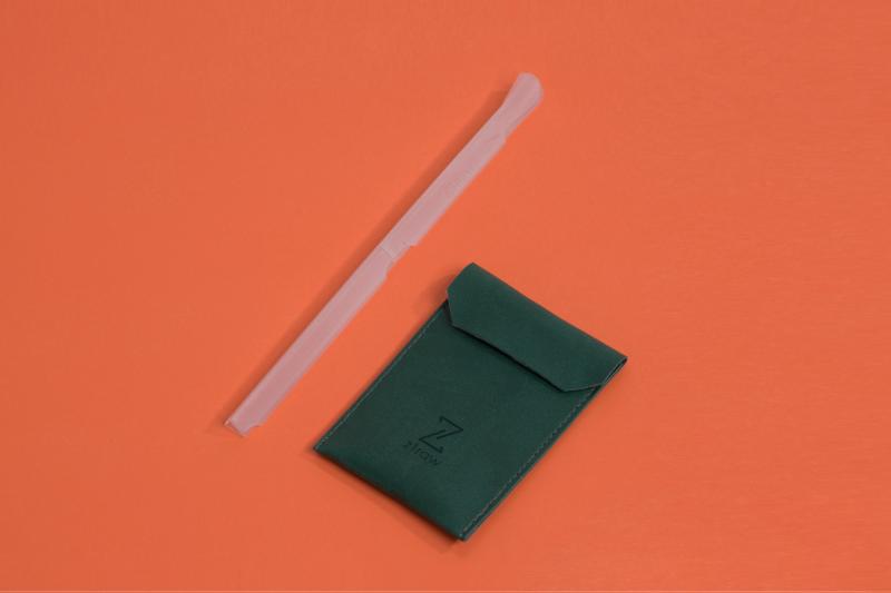 香港品牌 ZTRAW 可摺疊式便攜飲管