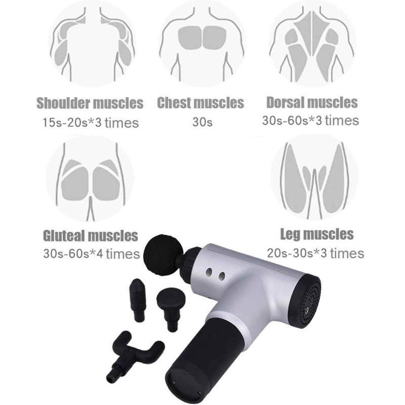 無線振動筋膜肌肉按摩器