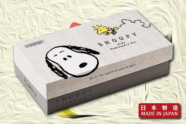 Snoopy餐具禮盒套裝 (5件)|日本製造