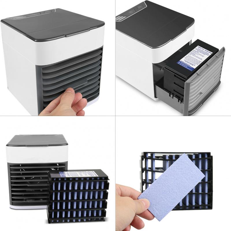 今日特價必備移動式冷氣機 AIR COOLER冷風機USB迷你風扇水冷空調扇空調風扇水冷扇