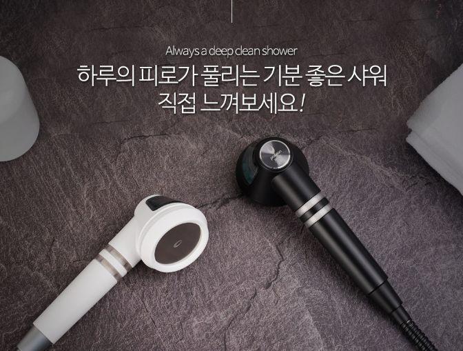 韓國 Poseion BT100 磁化離子水花灑 [2色]
