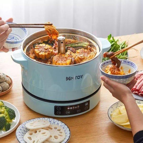 日本MTOY 4L 多功能自動升降智能火鍋電煮鍋 [2色]