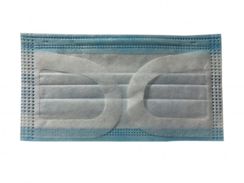 香港製Cherish 3層一次性防護口罩 (藍色) [50個/盒]