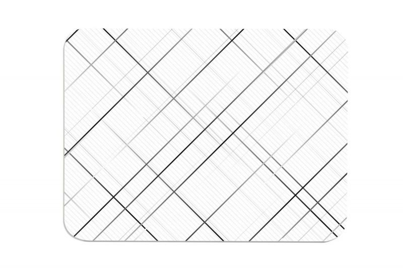 簡約風浴室吸水速乾防霉硅藻土地墊 -布藝紋 (59 x 38cm)