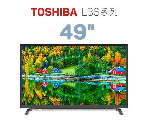 "Toshiba 49""LED 電視 (49L3650)"
