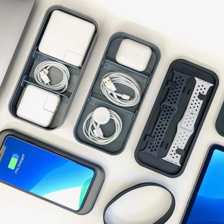 美國Bento Stack 蘋果迷配件無線充電收納盒 5000mAh