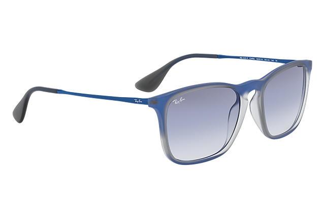 Ray-Ban RB4187F Chris Light Blue Gradient -622519太陽眼鏡